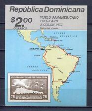 27979) DOMINICANA REP. 1987 MNH** Nuovi** Vuelo Faro Colon