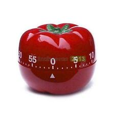 Mechanical Tomato Shape Home Food Baking Kitchen Cooking Countdown Timer Alarm