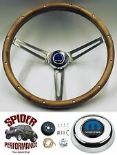 "1970-1974 Charger Challenger steering wheel MOPAR WALNUT 15"" Grant"