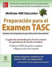 McGraw-Hill Education Preparación para el Examen TASC by Kathy Zahler (2016,...