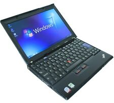 Cheap Laptop Windows 7 IBM Lenovo 1.8Ghz 4GB 4.0 80GB WIFI 12.1 Widescreen X200