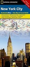 National Geographic Destination City Map: New York City City Map and Travel...
