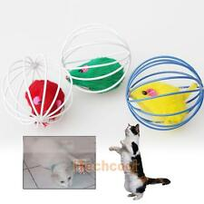 Funny Fake Mous Ball Pet Cat Dog Lovely Kitten Gift Interactive Play Toys Gifts