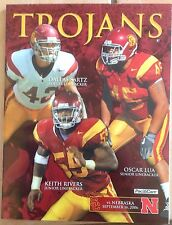 Nebraska Huskers vs USC Trojans  Game Program Magazine 2006