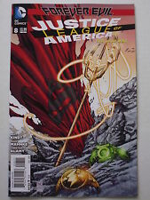 JUSTICE LEAGUE OF AMERICA ISSUE #  8.  DECEMBER 2013.  DC NEW 52.  N.MINT