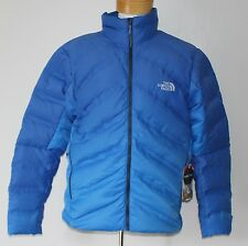 $349 New THE NORTH FACE 700 Down Puffer Jacket LARGE L Winter Coat Blue FUSEFORM