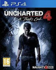 UNCHARTED 4 A Thief's End - PS4 - NEW & SEALED - FREE UK POST - IN STOCK NOW!!!