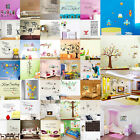 DIY Quote Art Vinyl Wallpaper Removable Wall Sticker Decal Mural Home Room Decor