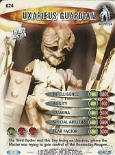 DR WHO ULTIMATE MONSTERS 624 UXARIEUS GUARDIAN