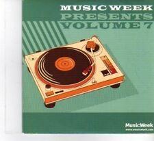 (DF468) Music Week Presents Volume 7, 14 tracks various artists - 2011 CD