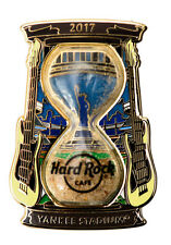 Hard Rock Cafe Yankee Stadium, NY Sand Clock Series Pin 2017