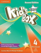 Kid's Box American English Level 4 Workbook with Online Resources by Michael...
