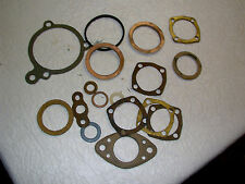 "1928 thru1931 Ford Model ""A""  Gaskets and Steering Column Spacers-Assorted Used"