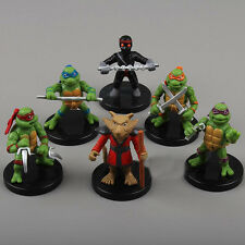 6pcs TMNT Figurine Play Set Doll Toy Teenage Mutant Ninja Turtles Collection Hot
