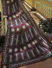 PERFECT FOR THE PORCH AFGHAN CROCHET PATTERN INSTRUCTIONS ONLY FROM A BOOK