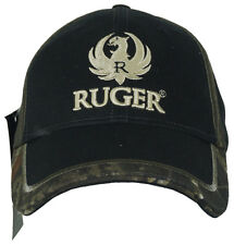 Licensed RUGER Camo Trim Logo Embroidered Adjustable Fit Hat Cap NEW