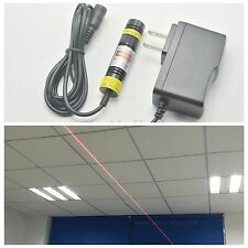 Focusable 648nm 650nm 100mW Red Laser Line Module Mitsubishi Diode 16mm*68mm