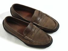 Men's Dooney & Bourke Penny Loafers Brown SZ 44 M