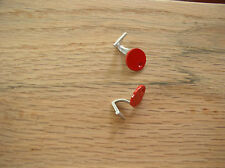 Pocher 1/8 Ferrari F40 Metal Gas Doors Fuel Caps Painted Red