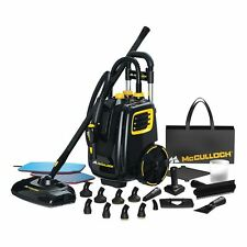 McCulloch MC1385 Deluxe Canister Steam System Cleaner