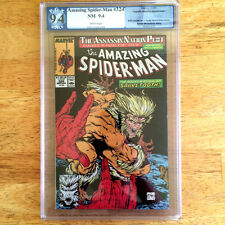 Amazing Spider-Man #324 PGX not CGC 9.4 NM TODD MACFARLANE cover Sabretooth