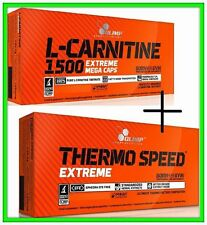 Set Olimp L-Carnitine 1500 Extreme & Thermo Speed Extreme Fat Burner Weight loss