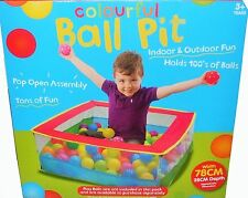 Baby Balls Pit Plastic Ocean Balls Colourful Balls Pit (Balls are not included)
