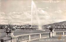 BR19037 Geneva switzerland  la rade et le jet d eau