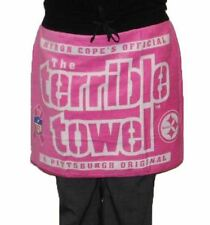 Pittsburgh Steelers Breast Cancer Awareness Terrible Towel Gameday Pink Skirt Wo