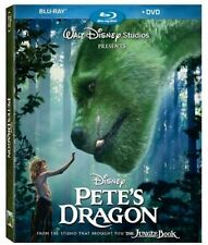 Pete's Dragon 2016 (Blu-ray + DVD Combo) New w/ Slipcover FREE Same Day Shipping