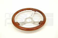 GRIP ROYAL - ROYAL CLASSIC - WOODGRAIN - BRUSHED SPOKES -  STEERING WHEEL