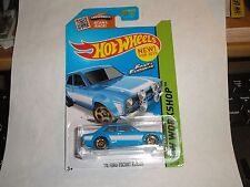 2014 Hot Wheels Fast & Furious '70 FORD ESCORT RS1600 ~ #221 ~ Blue