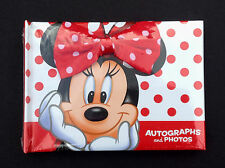 DISNEY Parks AUTOGRAPH Book and PHOTO Album MINNIE MOUSE (Sealed) NEW