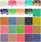 1000pcs 2,3,4,5,6MM Jelly drill beads flat back Scrapbooking Resin RHINESTONE