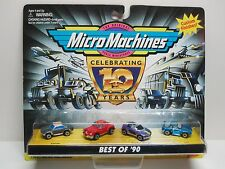 Micro Machines Best of '90 Corvair, Tucker, Pontiac Stinger, Porsche 944 No: 1/2