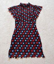 Sandro LACE STAR DRESS Size 1 US XS
