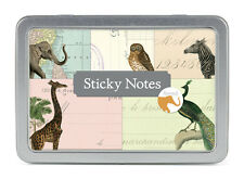 Cavallini & Co. Vintage Animal Sticky Note Pad Set / Decorative Post its