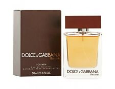 Dolce & Gabbana The One For Men 50ml Eau De Toilette Spray BRAND NEW IN BOX