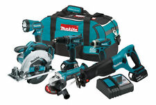 NEW Makita XT601 18V LXT Cordless Lithium-Ion 6 pc. Combo Kit