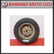 CERCHIO RUOTA GOMMA ANT. WHEEL IN LEGA YAMAHA BW'S MBK BOOSTER 130/90-10 +DISCO