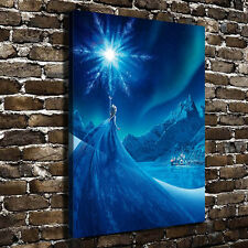 Oil Painting HD Print on Canvas Art Wall Decor,Disney Frozen 12X18inch Unframed
