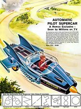ADVERTISING AUTOMATIC PILOT SUPERCAR TOY CHILDREN ART POSTER PRINT LV505