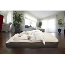 Orthopedic Dog Bed with Removable Cover for Medium Pets Overstuffed Washable NEW