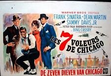 ROBIN AND THE SEVEN HOODS Belgian movie poster DEAN MARTIN FRANK SINATRA RATPACK