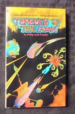 1970 TONGUES OF THE MOON by Phillip Jose Farmer 2nd Pyramid Paperback VF+