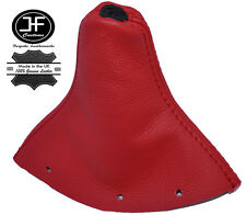 RED REAL LEATHER FITS AUDI TT MK1 1998-2006 GEAR GAITER SHIFT BOOT COVER