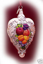 Reed Barton Blown Glass Ornament Francis 1st New Gift Boxed