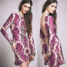 NWT XS For Love and Lemons Night To Remember Floral Dress Nasty Gal Sexy Hot