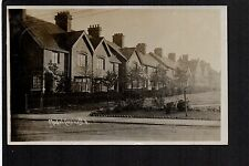 Creswell Village - real photographic postcard