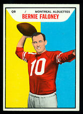 1965 TOPPS CFL FOOTBALL 67 BERNIE FALONEY EX-NM MONTREAL ALOUETTES U of Maryland